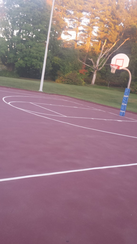 Chestnut Hill Basketball Court